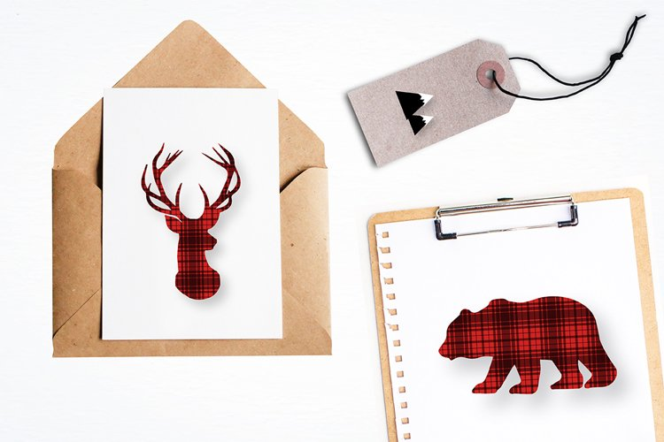 Woodland cabin graphics and illustrations - Free Design of The Week Design2