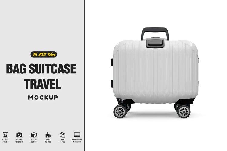 Bag Suitcase Travel Vol.3 Mockup example image 1