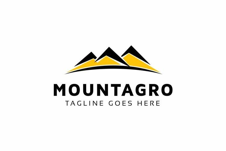 Mountains Logo example image 1