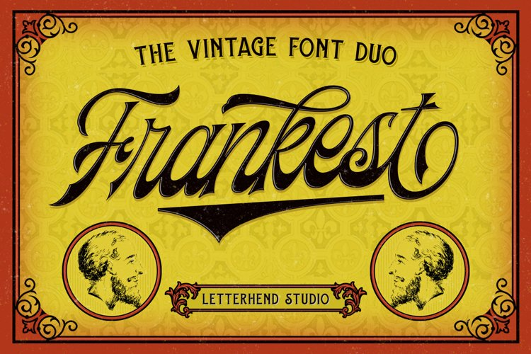 Frankest - The Vintage Font Duo example image 1