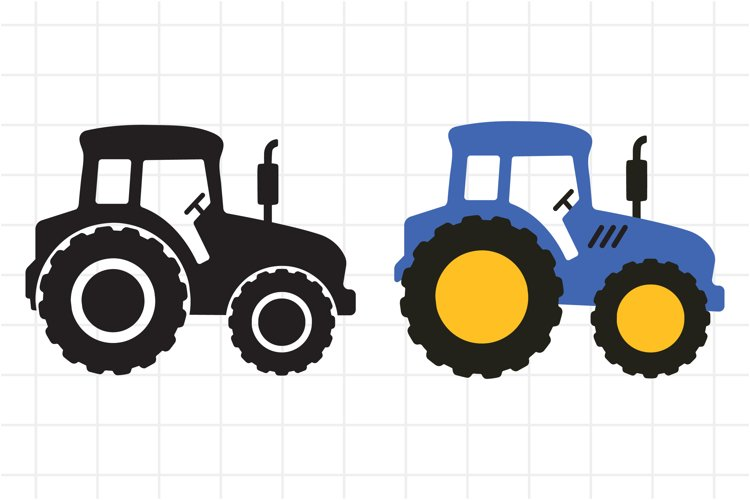 Big tractor SVG cut file for Cricut