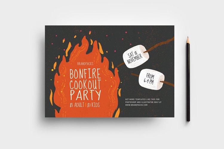 Bonfire Night Flyer Template v2 example image 1