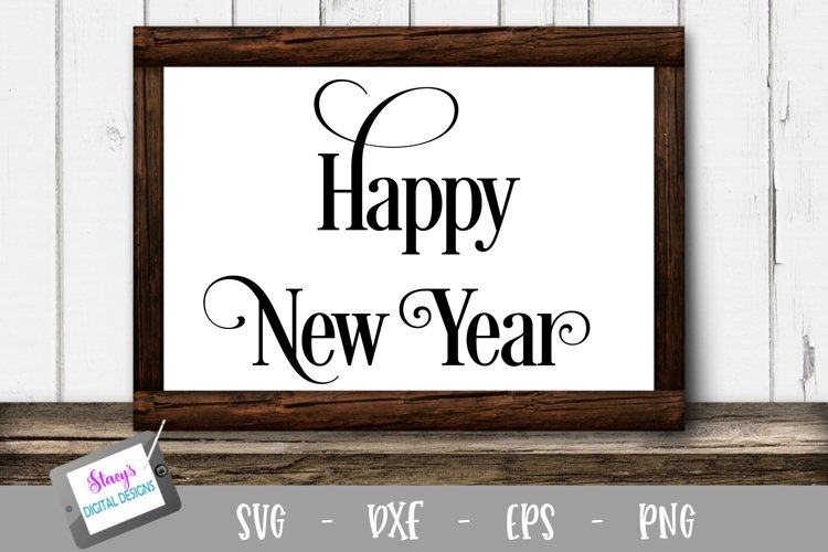 New Year SVG - Happy New Year Design