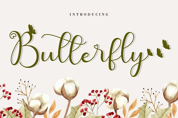 Cute Butterfly example image 1