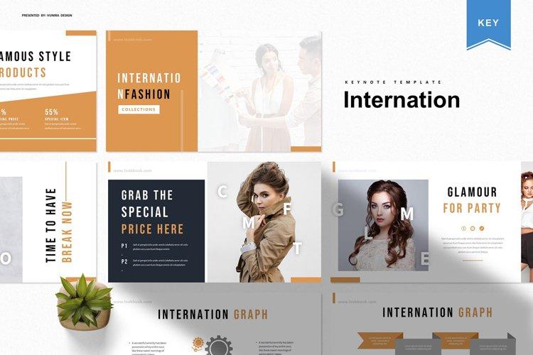 Internation | Keynote Template example image 1