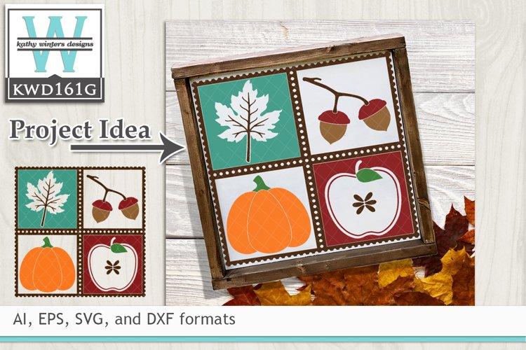 Autumn SVG - Autumn Stamp
