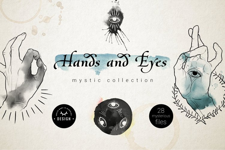 Hands and Eyes Mystical Collection example image 1
