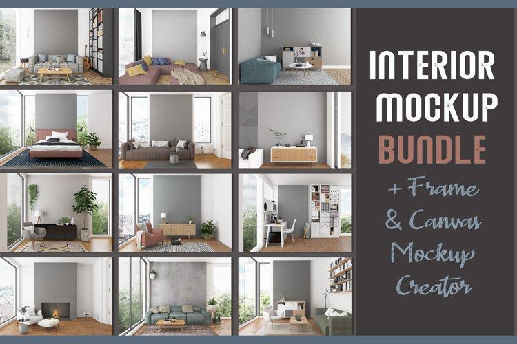 Interior Mockup Bundle - 80 off