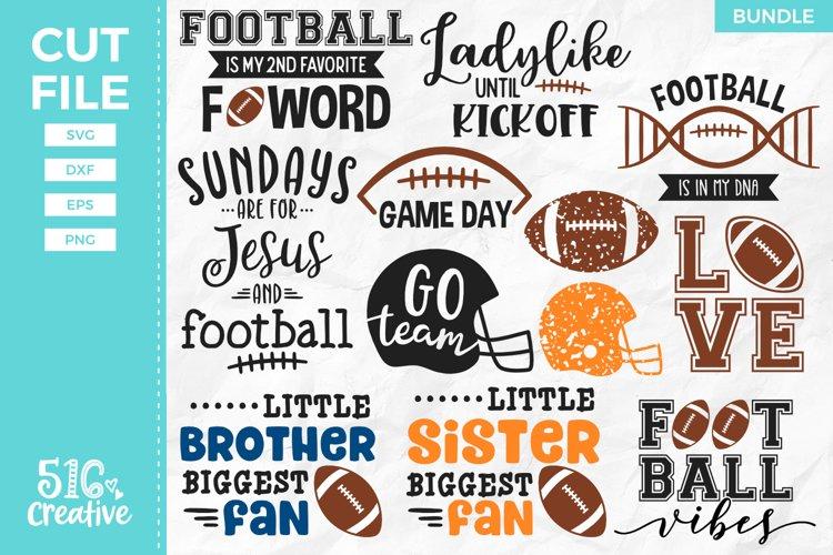 Football SVG Bundle - 12 Designs