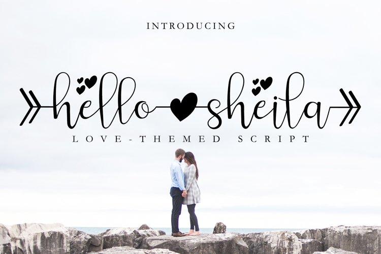 Hello Sheila example image 1