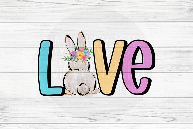 Love Easter Bunny example image 1