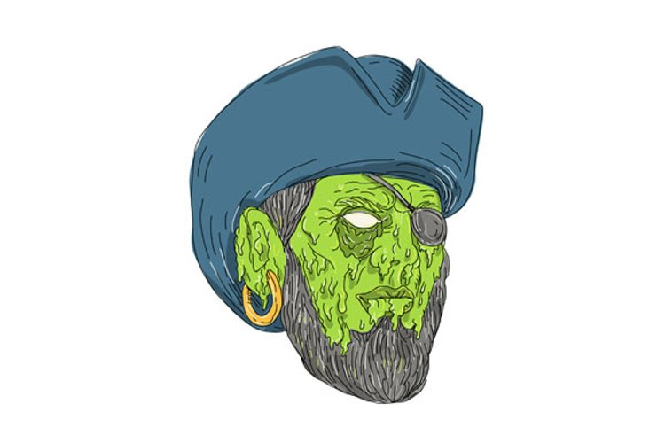 Buccaneer Pirate Grime Art example image 1