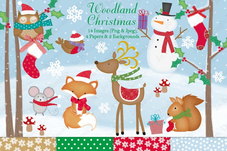 Christmas clipart, Christmas graphics & illustrations - Free Design of The Week Font