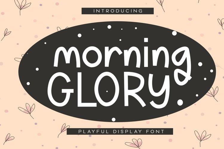 Morning Glory example image 1