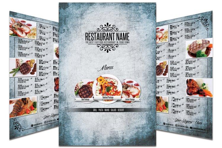 Restaurant Menu #9 example image 1