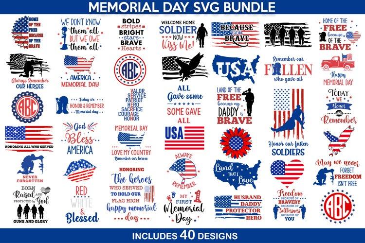 4th of july svg bundle, Memorial Day SVG, patriotic svg