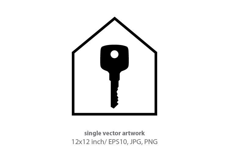 house key, vector