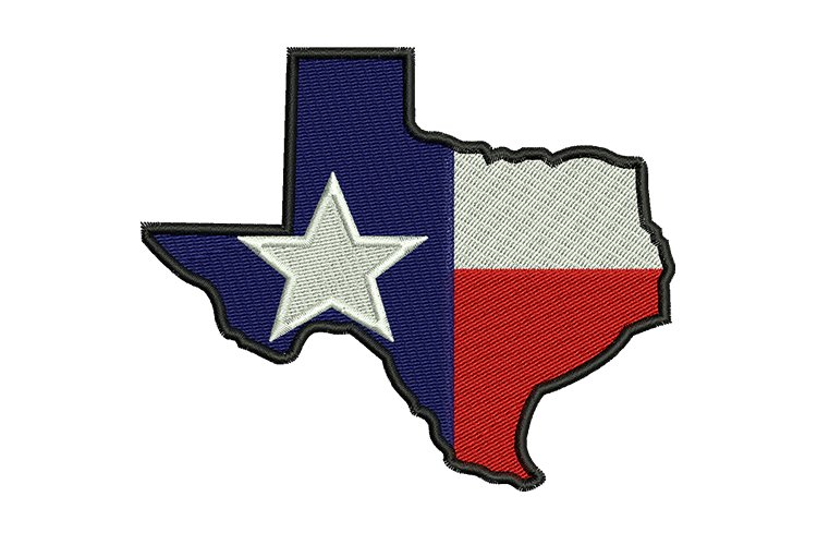 Texas State machine embroidery designs