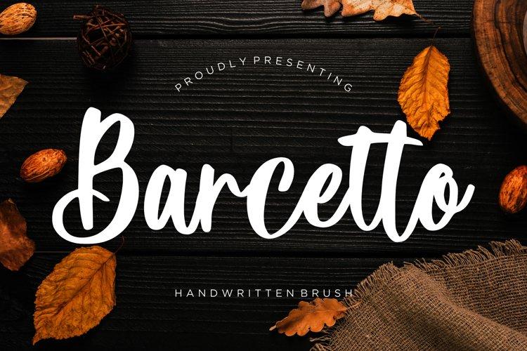 Barcetto Handwritten Brush example image 1