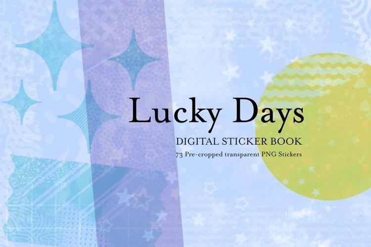 Lucky Days - Digital Stickers