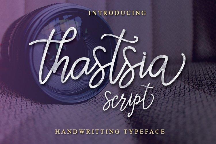 Thastsia Script example image 1