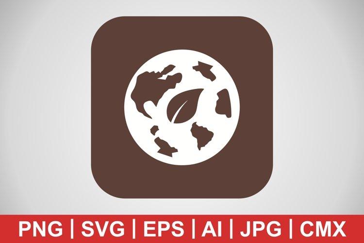 Vector Eco World Icon example image 1