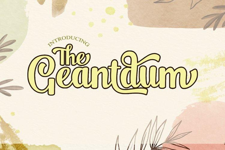 The Geantdum