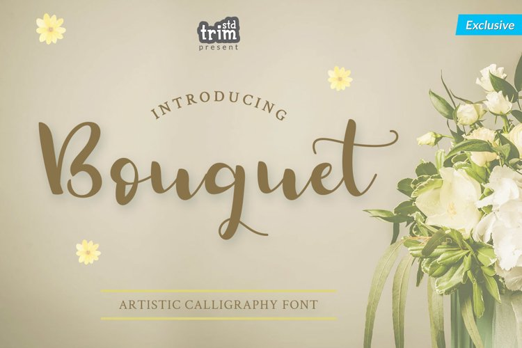 Bouquet - Artistic Calligraphy Font example image 1