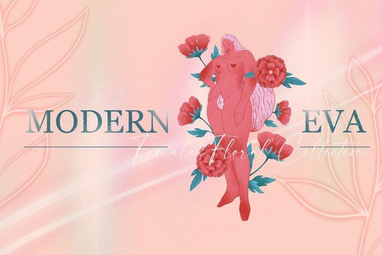 MODERN EVA females&florals pack