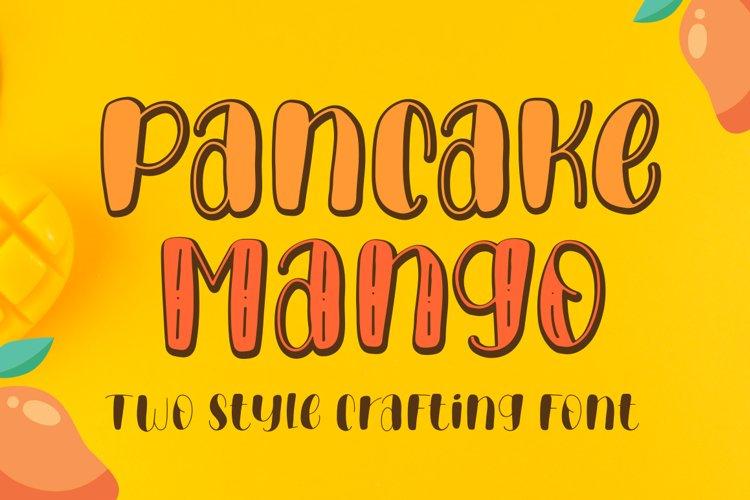 Pancake Mango - Handwritten Font example image 1