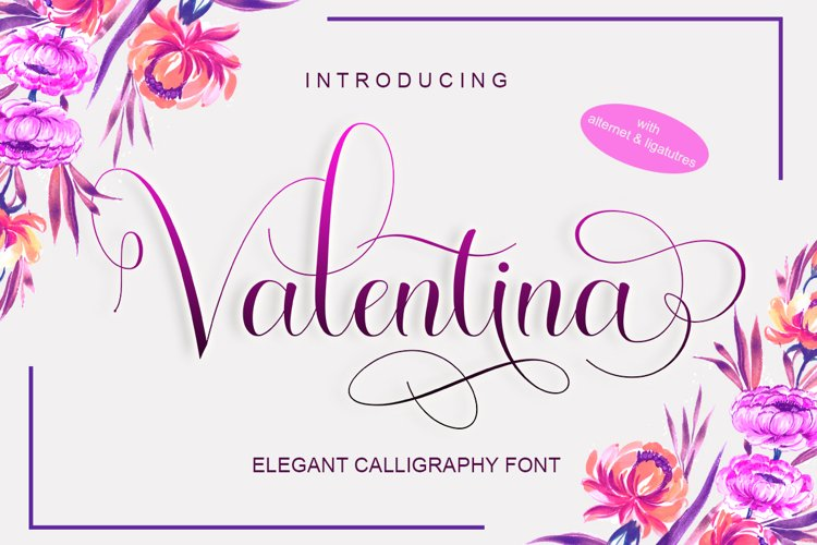 Valentina - Free Font Of The Week Font