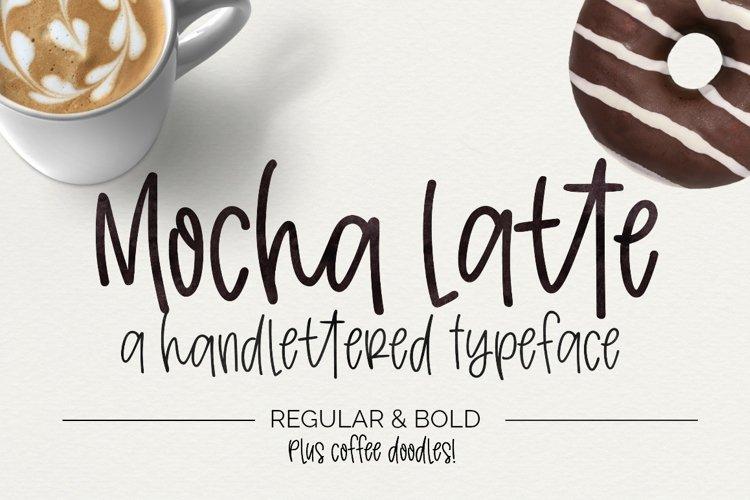 Mocha Latte Handwritten Font