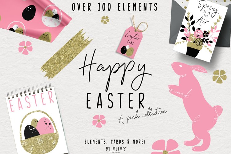 Happy Easter - a pink collection