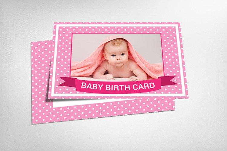 Baby Boy Birthday Card example image 1