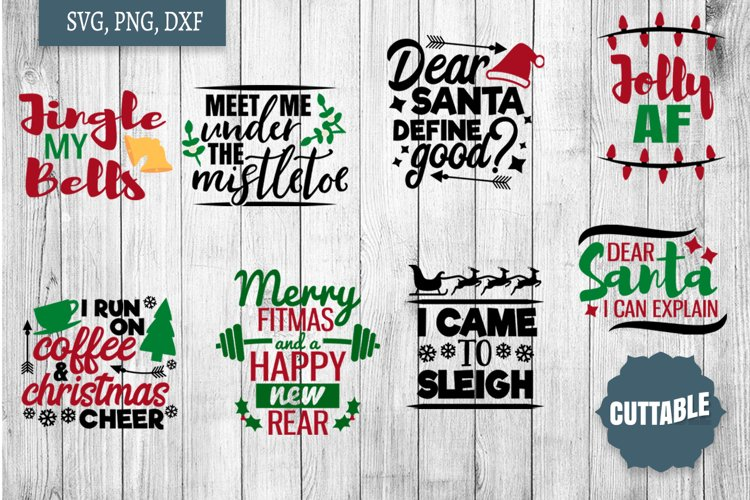 Adult Christmas quote cut files, Adult fun Christmas svgs