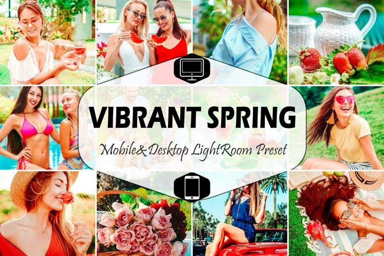 10 Vibrant Spring Mobile & Desktop Lightroom Presets