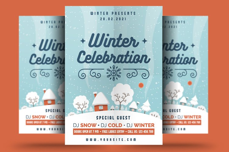 Winter Celebration Flyer
