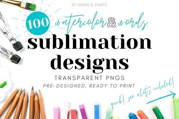 Funny Quotes Sublimation Designs Watercolor Words Sarcastic