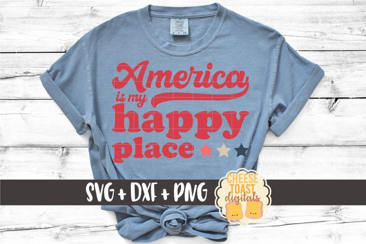Patriotic SVG | America Is My Happy Place