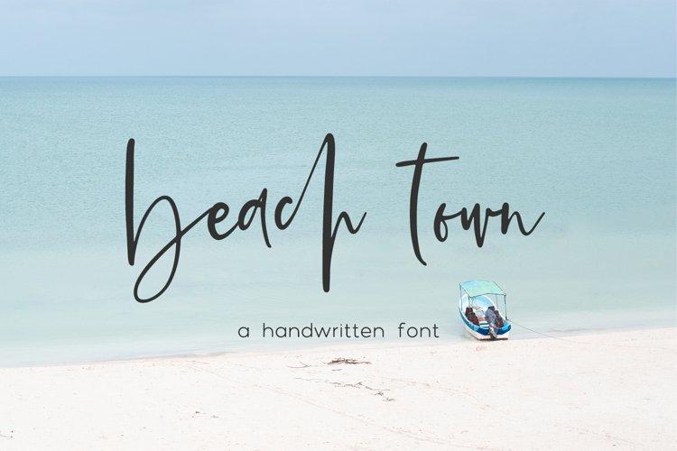 Beach Town Script example image 1