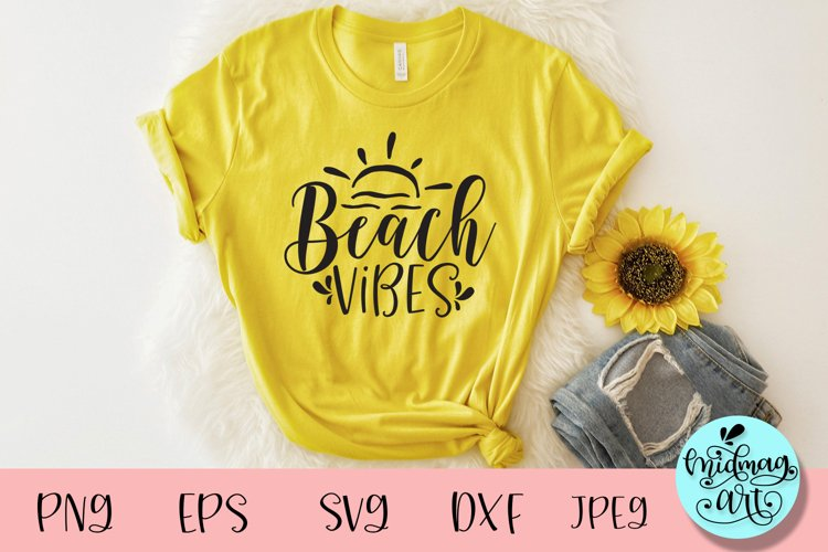 Beach vibes svg, summer svg