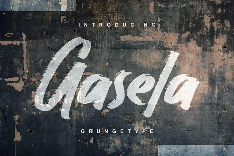 Gasela | Grungetype Font example image 1