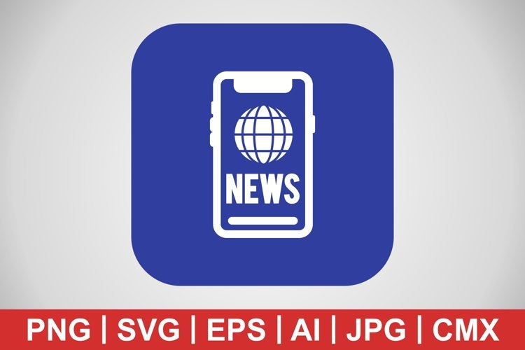 Vector News Icon example image 1