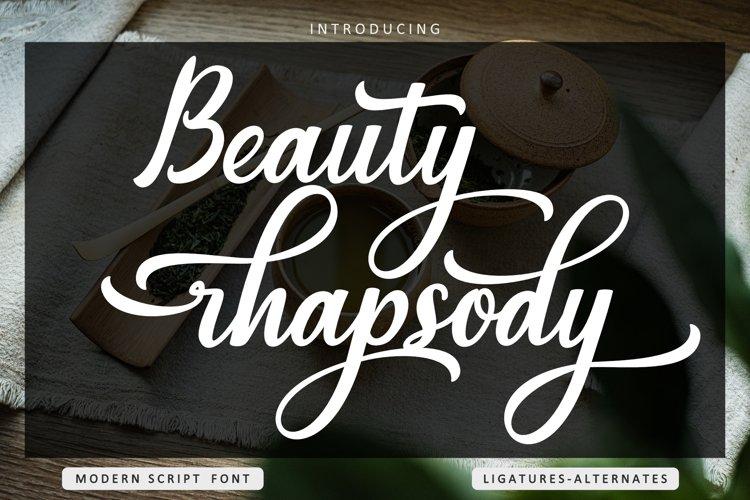 Beauty rhapsody example image 1