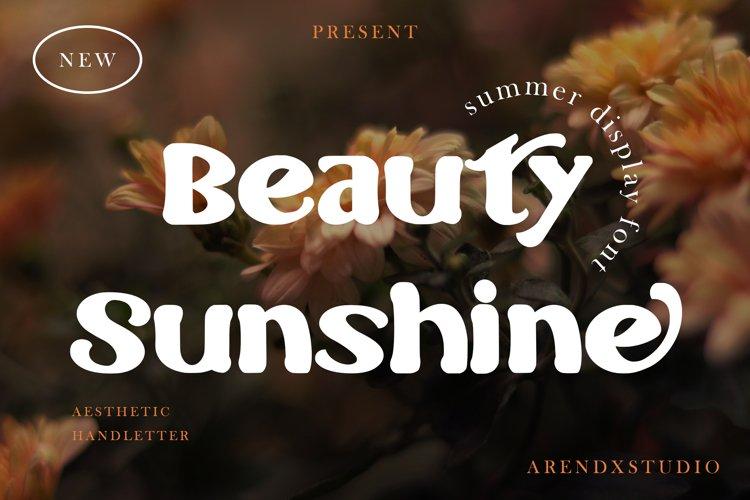 Beauty Sunshine - Summer Display example image 1