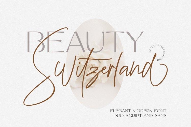 Beauty Switzerland Business Font example image 1