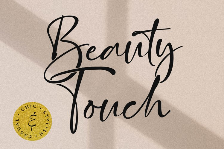 Beauty Touch - Lovely Fonts example image 1