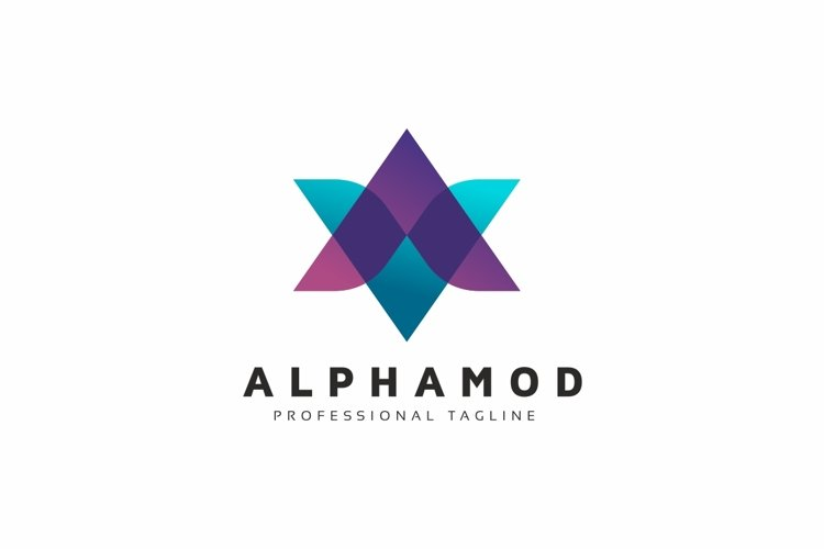 Alpha A Letter Logo example image 1
