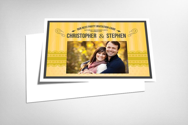 Wedding Save the Date Card example image 1