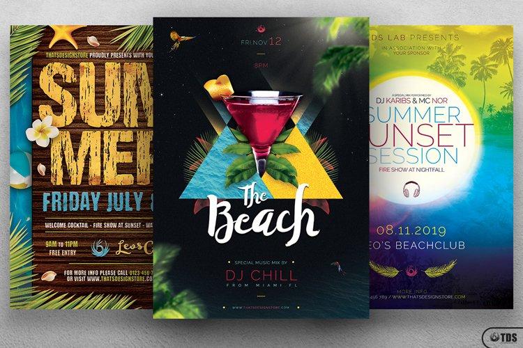 Summertime Flyer Bundle V2 example image 1